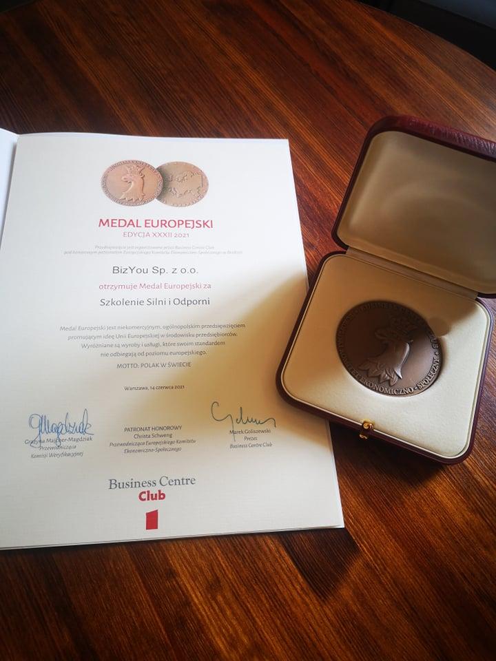 Medal Europejski dla Silni i Odporni